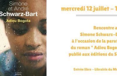 12/07/17 - Rencontre avec Simone Schwarz-Bart - Marseille
