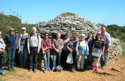 Balade au Clos Gaillard avec les membres de l'ASMA et de l'ASCE du Gard
