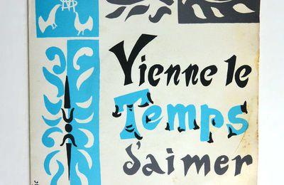 """Disque vinyle 45T M.Brothier """"Vienne le temps d'aimer"""""""