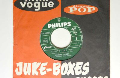 "Disque vinyle 45T Robert GOGOI ""Toute une vie"""