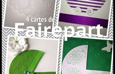 DIY carte faire part