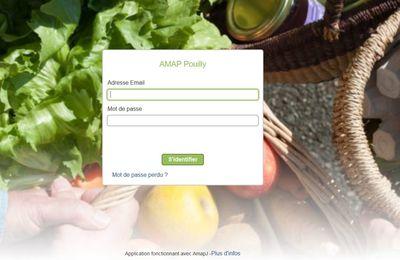 AMAP Pouilly : Vos contrats Paniers sur internet !