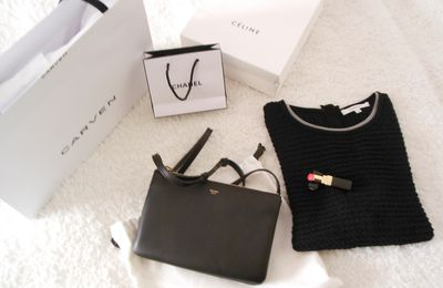 "Shopping en ""C"" (Céline, Carven & Chanel)"