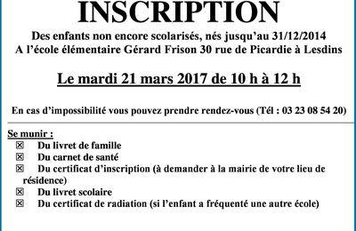 Regroupement scolaire Lesdins-Remaucourt.