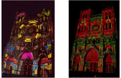 Si vous passez par Amiens cet été, arrêtez-vous sur le parvis de sa cathédrale... à la nuit tombée.