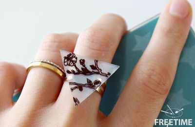 Bague en plastique fou - DIY- Freetime box