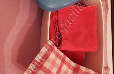 Lingettes Lavables ou carrés lavables