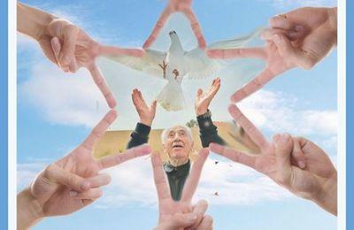 """""""La Paix si jamais elle existe ne reposera pas sur la crainte de la guerre mais sur l'Amour de la Paix."""" (J.Benda) RIP #ShimonPeres"""