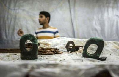 Les anciens Égyptiens utilisaient le métal à bord de leurs bateaux