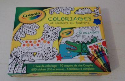 Viens on découvre Le Coffret Crayola...