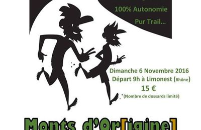 Le Monts d'Or[igine] Trail
