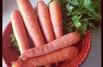 Les bienfaits de la carotte.