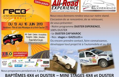 All-Road Expérience au 1er Salon RECO