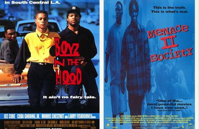 Boyz'n the Hood vs Menace II Society : ghetto stories