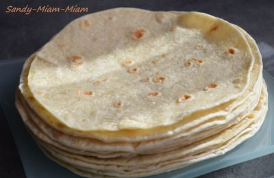 Tortillas de blé
