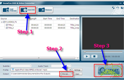 Free import DVD into Windows Movie Maker for editing