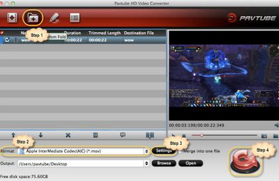 How to edit Sony FDR-AX1 4K XAVC S video on Mac