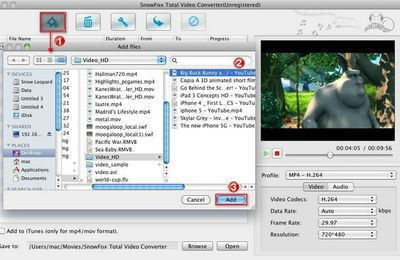 How to import Flip video to iMovie