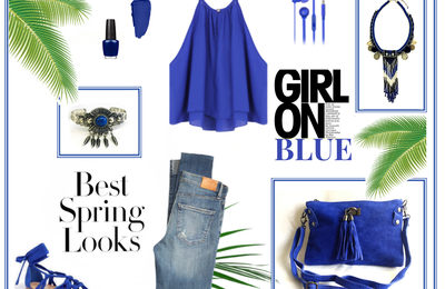 | IDÉE LOOK | GIRL IN BLUE