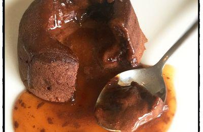 Chocolate & Caramel Lava Cake