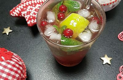 Christmas Mojito , le cocktail de Noël