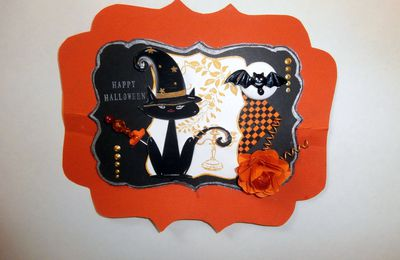 carte happy halloween