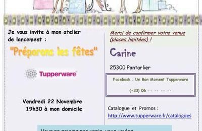 Invitations Ateliers Culinaire