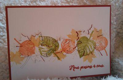 saison colorée, l'automne