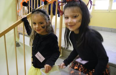 Halloween at school