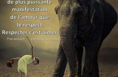 amour et respect...