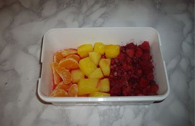 Salade de fruits au naturel