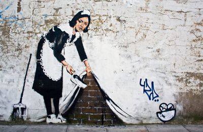 STREET ART and the famous artist BANKSY