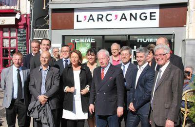 Visite des têtes de liste européenne dans la Marne