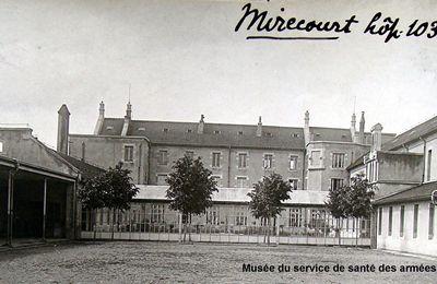 VOSGES – Hôpitaux militaires (1914-1918)