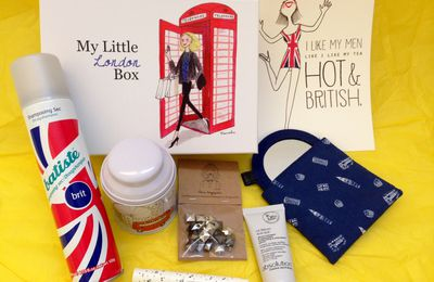 My Little London Box ! Purely british...