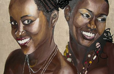 Painting : Smile Every Day - Sourire
