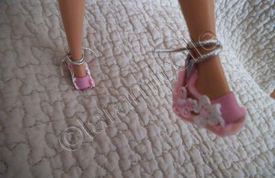 tutos gratuits diverses poupées et Barbie : chaussures , bottes..... 1