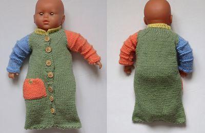 tuto gratuit poupée  :Liris à l'honneur avec l'un de ses tutos: sac de couchage