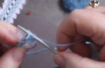 tuto gratuit : tricoter de la dentelle