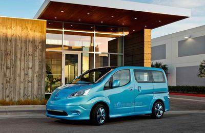 Nissan e-NV 200...il arrive!