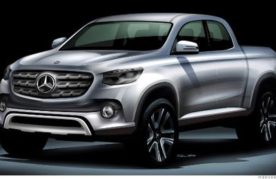 Un pick-up chez...Mercedes!