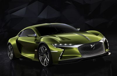 DS E-Tence, le concept surprise sensationnel!!