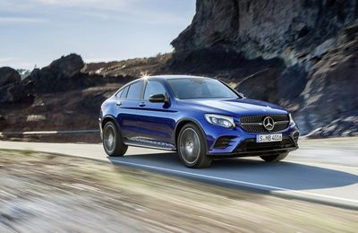 Zoom sur le Mercedes GLC Coupé à New York!