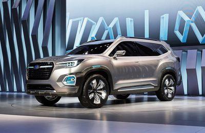 Subaru VIZIV 7 Concept, une SUV qui nous surprend!