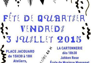 Fête du quartier : cette année JACQUARTONNE !!