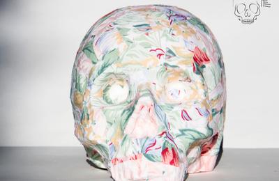 Skull Miss Vintage Flowers