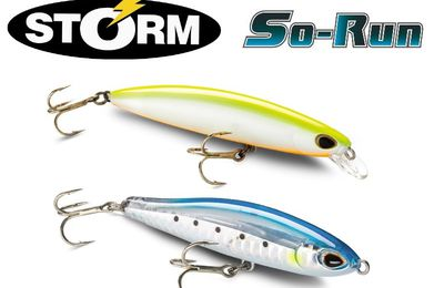 Test: Storm So Run Minnow et So Run Sinking Pencil