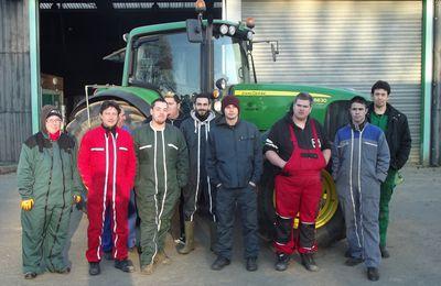 Rentrée des stagiaires BPA TCEEA au centre agro équipement de Nozay