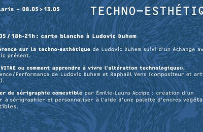 Percolaris #1 : Techno-esthétique