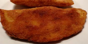 Empanadillas Mornay rebozadas
